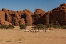 Natural Rock Formations, Chad, Africa