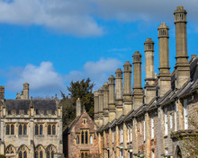 Vicars Close In Wells, Somerset