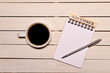 コーヒーとカレンダー(十一月)