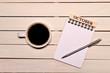 コーヒーとカレンダー(十月)