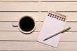 コーヒーとカレンダー(九月)