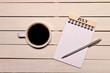 コーヒーとカレンダー(七月)