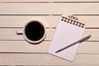 コーヒーとカレンダー(四月)