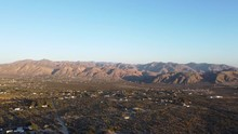Sweeping Aerial Of Morongo Val...