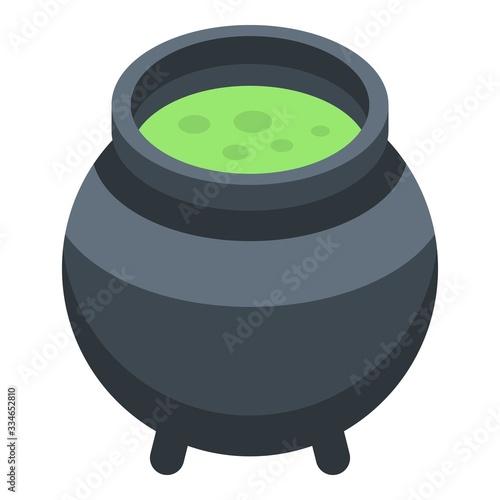 Fotografie, Obraz Witcher cauldron icon