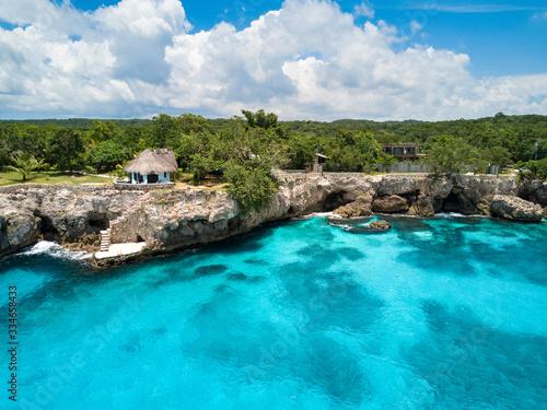 Island Beauty Billede på lærred