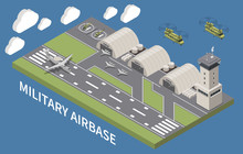 Military Air Force Base Isomet...