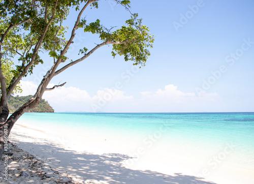 Fototapeta  Rok Island, the Queen of the Andaman, the beautiful nature of Thailand, Krabi obraz