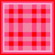 Checkered Tablecloth Seamless Pattern. Plaid Seamless Pattern. Scottish Pattern Background Vector.  Plaid Tablecloth And Blanket