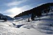 Staller Sattel, Osttirol, Tirol, Winter, Jahreszeit, Schnee, Eis, Schneedecke, Wald, Alpen, Villgrater Berge, Defereggen, Deferegger Alpen, Grenze, Österreich, Italien, Südtirol, Lasörlinggruppe, Hohe
