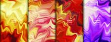 Colorful Fluid Art Background....
