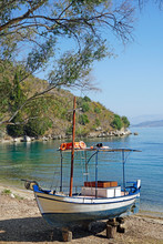 Fishing Oat On The Island Of C...