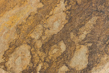 The Texture Of The Stone Is Shot Closeup Of Ordinary Sandstone.