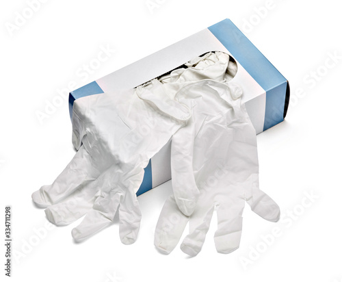 Photo latex glove protective protection virus corona coronavirus disease epidemic medi