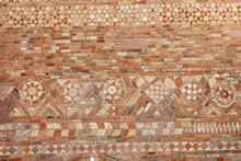 Ancient Brick Wall Of The Basi...