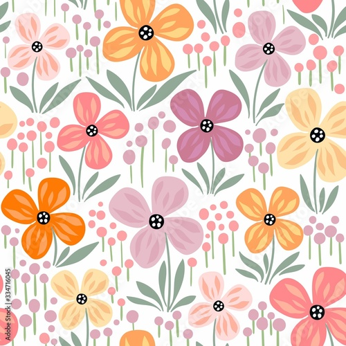 Tapety kolorowe  seamless-pattern-with-flowers-pastel-colors