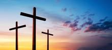 Cross Of Jesus Christ Empty Ov...