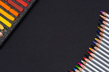 Gray Wooden Pencils With Color...