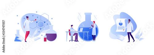 Fotografia Science chemistry laboratory concept