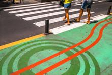 Pedestrian Crossing Markings O...