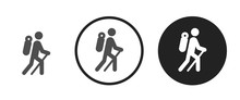 Climbing Icon . Web Icon Set ....