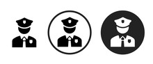 Policeman Icon . Web Icon Set ...