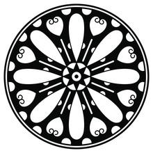 Mandala Decorative Ornament. C...