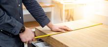 Male Hand Interior Designer Us...
