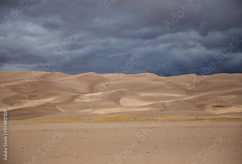 Canvas Print Great Sand Dunes National Park in Colorado