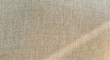 Detail Of Jute Hessian Fabric Texture Of Natural Linen Fabric