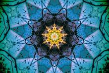 Spiritual Kaleido Flower