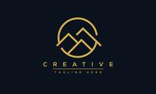 Mountain Logo Design. Landscap...