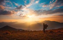 Hiking Trough Epic Mountain La...