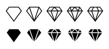 Diamond Icon. Big Collection Q...