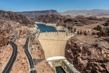 Hoover Dam, Nevada And Arizona