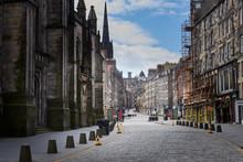Empty Streets Of Edinburgh Dur...