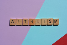 Altrusim, Word On Colourful Ba...