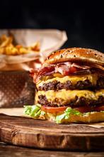 Juicy American Burger, Hamburg...