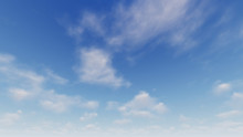 Cloudy Blue Sky Abstract Backg...