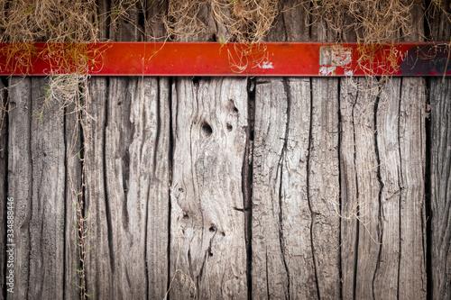 Fondo de madera con textura Wallpaper Mural