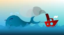 Fishing Boat, Trawler In The O...