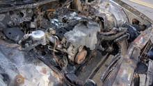 Burnt Abandoned Car