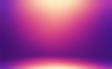 Purple Room 3D Illustration. G...