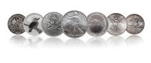 One Ounce Silver Bullion Coins