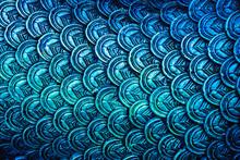 Colourful Naga Skin Pattern Texture Background.