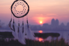 Dream Catcher Against The Sky....