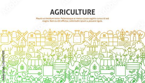 Photo Agriculture Art Concept
