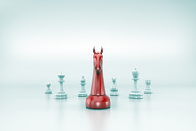 Chess Business Concept, Leader...