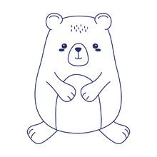 Cute Little Teddy Bear Animal ...