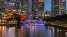 Singapore Skyscrapers Skyline ...